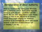 demonstration of jesus authority102