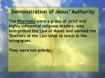 demonstration of jesus authority105