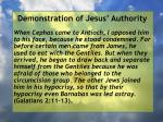 demonstration of jesus authority112