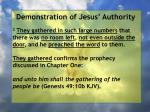 demonstration of jesus authority12