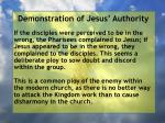 demonstration of jesus authority125