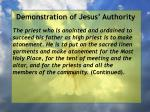 demonstration of jesus authority128