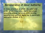 demonstration of jesus authority130
