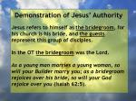 demonstration of jesus authority137