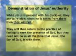 demonstration of jesus authority139