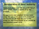 demonstration of jesus authority142