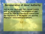 demonstration of jesus authority144
