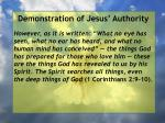 demonstration of jesus authority146