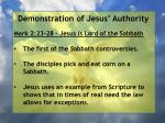 demonstration of jesus authority152