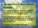 demonstration of jesus authority155