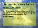 demonstration of jesus authority157