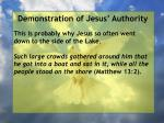 demonstration of jesus authority16