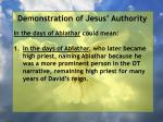 demonstration of jesus authority165