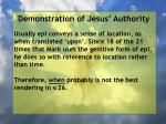 demonstration of jesus authority168