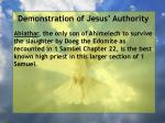 demonstration of jesus authority169