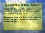 demonstration of jesus authority17