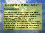 demonstration of jesus authority172
