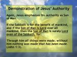 demonstration of jesus authority175