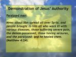 demonstration of jesus authority26