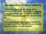 demonstration of jesus authority29