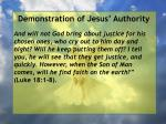 demonstration of jesus authority32
