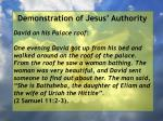 demonstration of jesus authority37