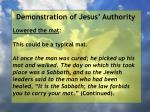 demonstration of jesus authority39