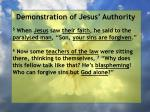 demonstration of jesus authority43