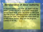 demonstration of jesus authority45