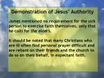 demonstration of jesus authority46