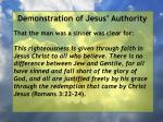 demonstration of jesus authority57