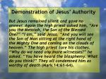 demonstration of jesus authority60
