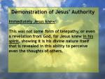 demonstration of jesus authority62