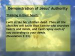demonstration of jesus authority63