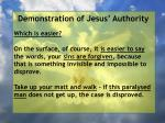 demonstration of jesus authority66