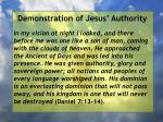 demonstration of jesus authority71