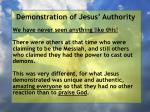 demonstration of jesus authority79