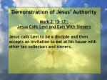 demonstration of jesus authority81