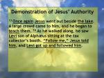 demonstration of jesus authority82