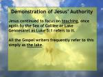 demonstration of jesus authority86