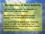 demonstration of jesus authority88