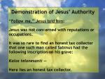 demonstration of jesus authority91