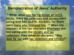 demonstration of jesus authority93