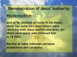 demonstration of jesus authority95