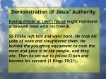 demonstration of jesus authority97