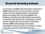 research involving animals1