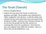 the torah tawrah