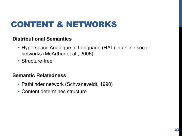 Content & Networks