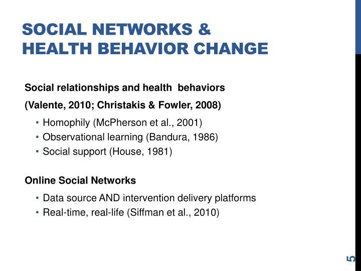 Social Networks &