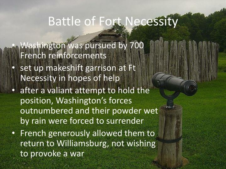 Battle of Fort Necessity